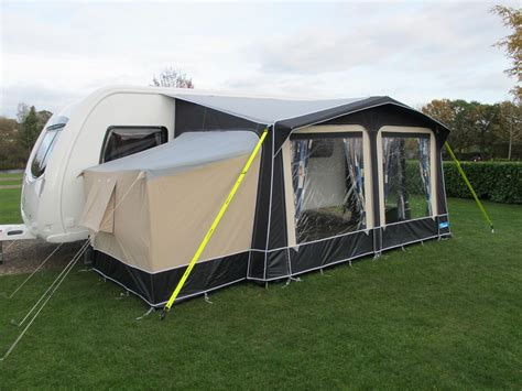 Porch Awning With Annexe by Ka Jamboree Porch Awning Annexe Caravan