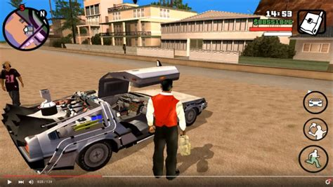 gta san andreas mod game for android gta san andreas back to the future mod pack for android v1