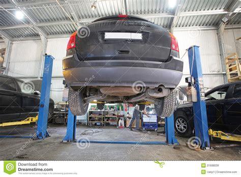 Motor Repair Garages by A Car Repair Garage Royalty Free Stock Images Image