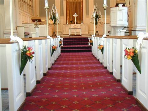 Decorating With Church Pews by Pew Decorations For Wedding The Home Decor Ideas