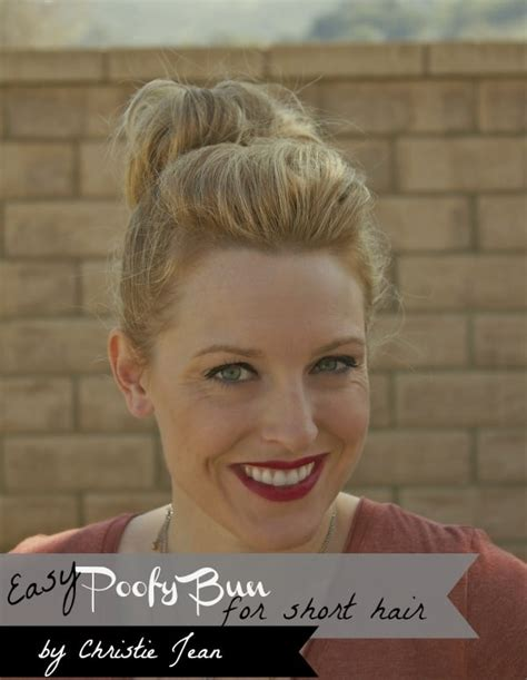 top knots for short hair full top knot for short or thin hair somewhat simple
