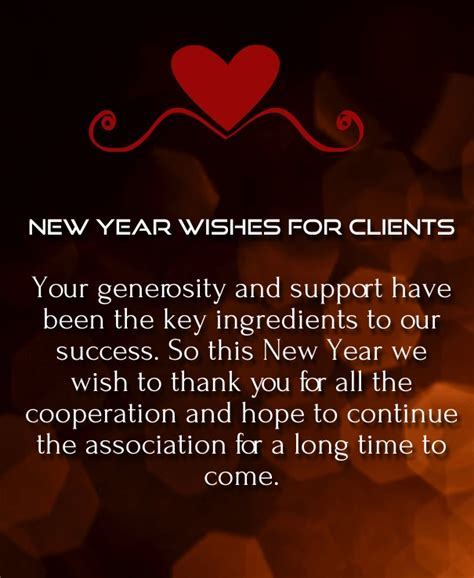 happy  year  wishes  clients  customers quotes square