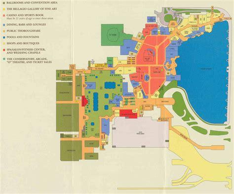 Bellagio Floor Plan by Bellagio Map Bellagio Hotel Map