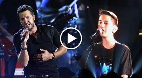 luke bryan duet luke bryan brings young cancer survivor on stage for