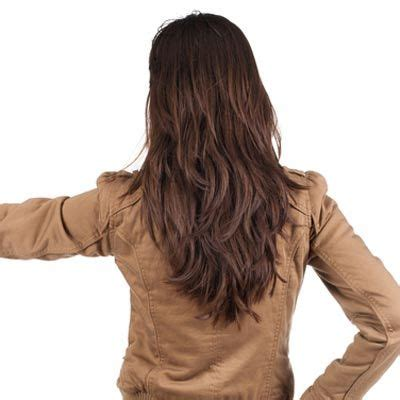 show me how to cut layers v cut hair perfect picture for when it grows out to show