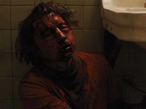 Bathroom Trailer The Makeup Wizards Of Prisoners Turn Paul Dano S Face