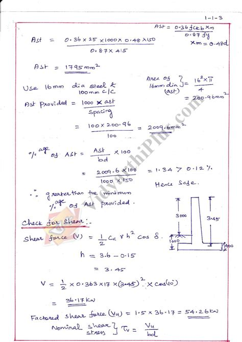 design pattern lecture notes design of reinforced concrete and brick masonry structures
