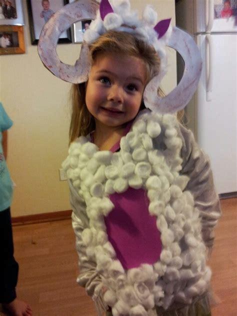 Handmade Sheep Costume - crafts diy easy costume