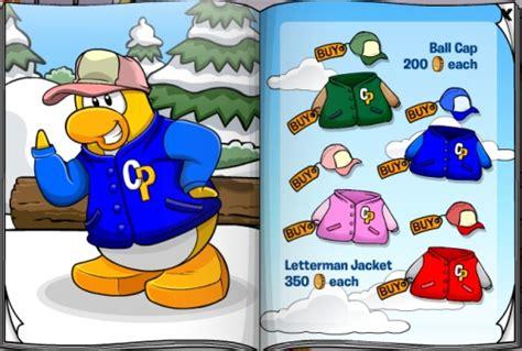 club penguin old clothes october november 2010 clothing catalog cheats club