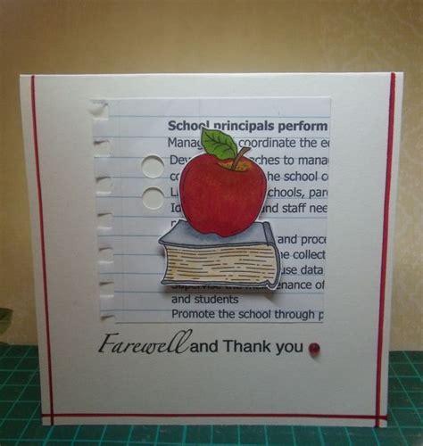 Sweet Handmade Cards - sweet handmade farewell card for a hello