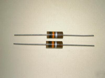 resistors oklahoma city 62k or 62000 ohm 2 watt carbon resistors non inductive