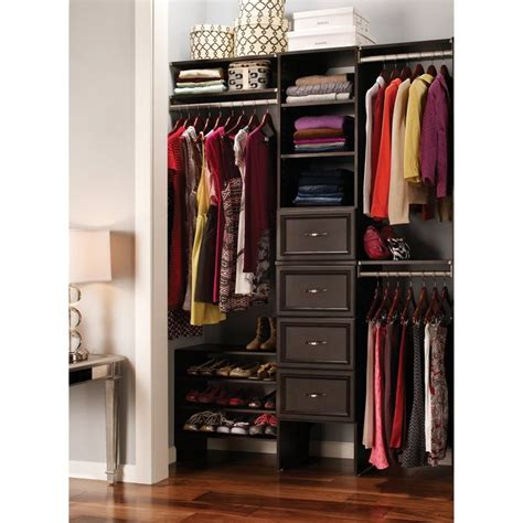 Closetmaid Suitesymphony Laminate Closet Organizer 17 Best Images About New House Closet On Walk