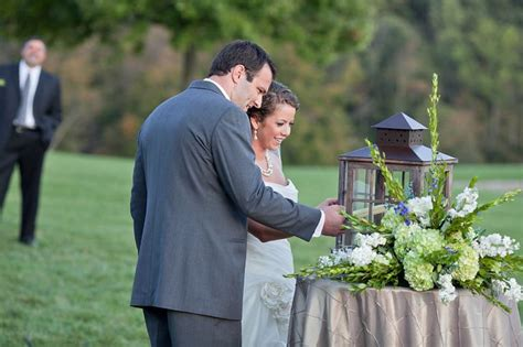 outdoor wedding unity ideas great idea for outdoor wedding light unity candle in a