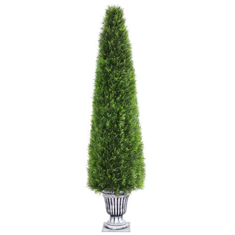 outdoor lighted palm tree home depot home accents holiday 72 in led lighted tinsel palm tree