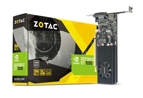 Zotac Gtx 1050 2gb Ddr5 Oc Series Dual Fan nvidia geforce gt 1030 pascal graphics card launched at 70 us