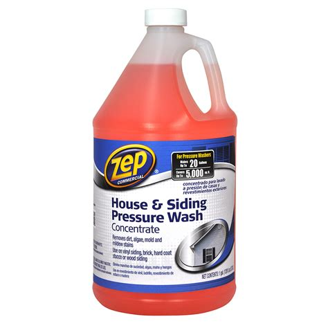 house and siding cleaner shop zep commercial house and siding cleaner concentrate 128 oz at lowes com