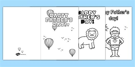 Cool Fathers Day Card Templates by Fathers Day Card Templates Colouring Gifts
