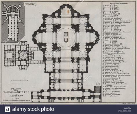 roman basilica floor plan st peter s rome basilica di san pietro in vaticano