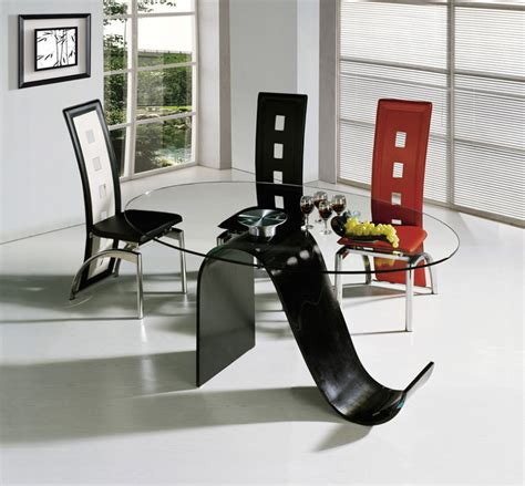 modern glass dining room table 40 glass dining room tables to rev with from rectangle