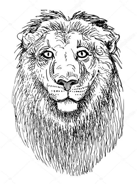 imagenes de leones a blanco y negro le 243 n de la obra de arte dibujo dibujo blanco y negro de