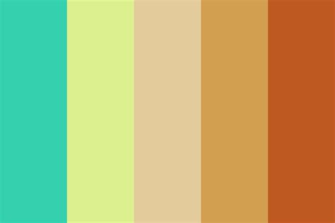 popular color palettes best friends forever color palette