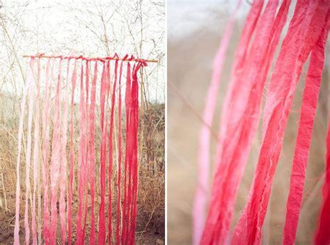 cortinas artesanales cortinas artesanales con tiras de tela tintadas
