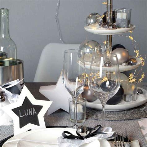 Weihnachtsdeko Fensterbank Silber by Die Besten 25 Deko Silvester Tisch Ideen Auf