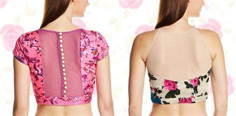 boat neck gala suit ka net blouse back neck designs fashionpro