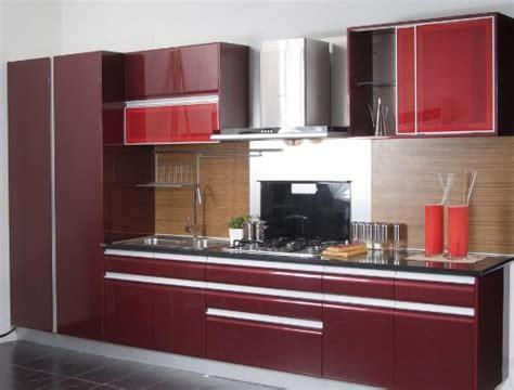 gambar lemari dapur minimalis  unik  efisien