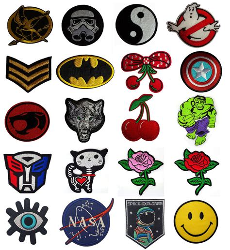 Supplier Prety Wkwk By Chery embroidered iron on sew on patches badges transfers