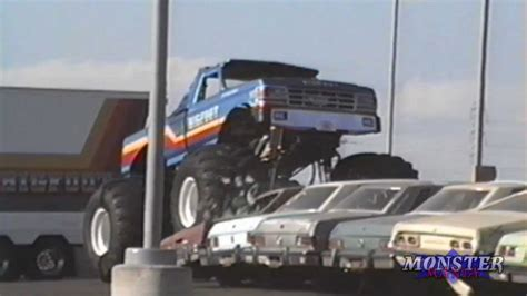 bigfoot monster truck videos youtube bigfoot 8 monster truck roseville ca 1991 youtube