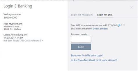 raiffeisen bank e banking login login mit phototan oder sms