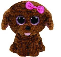 ty maddie brown puppy dog beanie boos stuffed animal plush toy