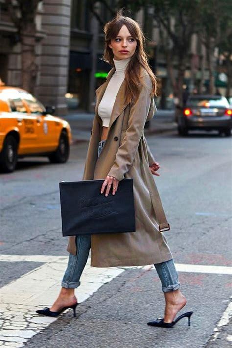 francoise hardy new york modern fran 199 oise hardy trench coat distressed denim