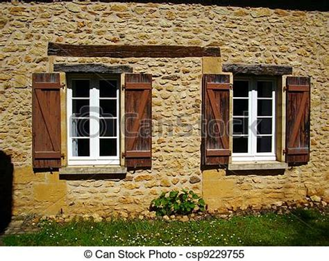 Country Farm House Plans stock images of french farmhouse window amp shutters