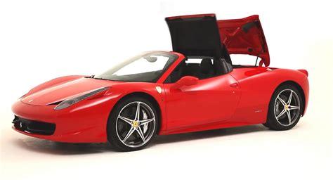 Ferrari 458 Hardtop Convertible by New Ferrari 458 Italia Spider With A Retractable Hardtop