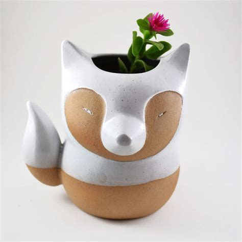 Where To Buy Planters Near Me Adorable Animal Themed Ceramic Pots For Your Favorite Plants