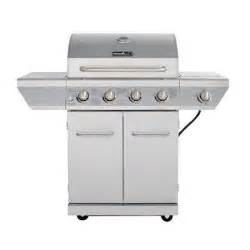 gas grills at home depot nexgrill 4 burner propane gas grill in stainless steel