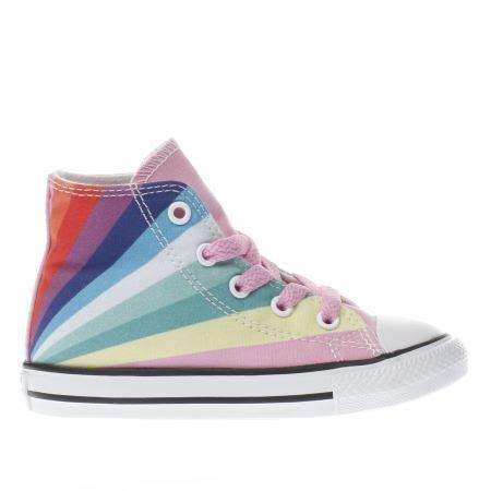 Converse Rainbow pink converse all ox rainbow toddler schuh