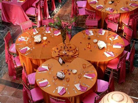 wedding reception table shapes round rectangle
