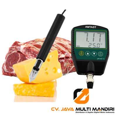 Alat Ukur Ph Daging alat pengukur ph keju dan daging instrumen uji