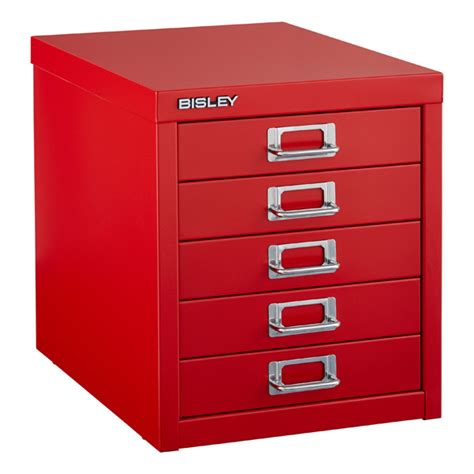 Bisley 5 Drawer Cabinet by Bisley 5 Drawer Cabinet The Container Store