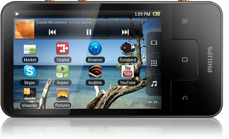 audio player android wifi mp3 player with android sa3cnt16k 37 philips