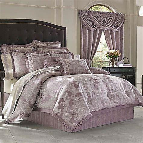 buy j queen new york regina king comforter set in violet