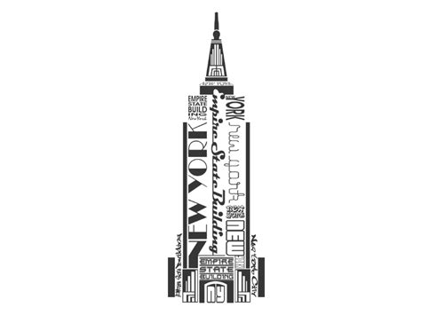 tattoo nyc empire state wandtattoo empire state building new york wandtattoos de