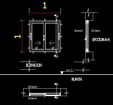 aluminium window sections dwg aluminium sliding window dwg detail for autocad designs cad