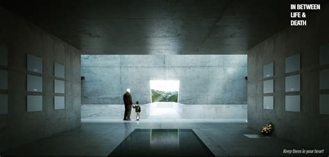 designboom architecture for death in between life death designboom com