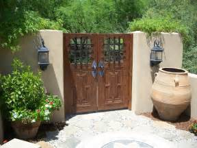 Carved Wooden Screens Room Dividers - mexican garden gates entry mediterranean entry phoenix by skiby amp sons