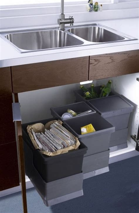 ikea under sink organizer a few practical ways of incorporating dustbins into your