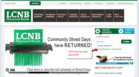 lcnb national bank banking login cc bank